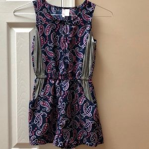 Other - Girls romper size 12 with pockets!